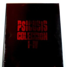 Cine: COLECCIÓN PSICOSIS I-IV (4 DISCOS) - HITCHCOCK / FRANKLIN / PERKINS / GARRIS - ANTHONY PERKINS DVD. Lote 168278309