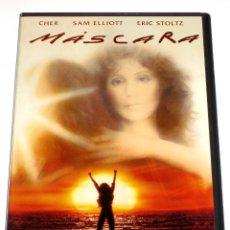 Cine: MASCARA - PETER BOGDANOVICH CHER ERIC STOLTZ SAM ELLIOTT RICHARD DYSART LAURA DERN DVD DESCATALOGADA. Lote 168279522