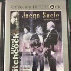 Cine: JUEGO SUCIO (ALFLED HITCHCOK) (NUEVA Y PRECINTADA). Lote 194401895