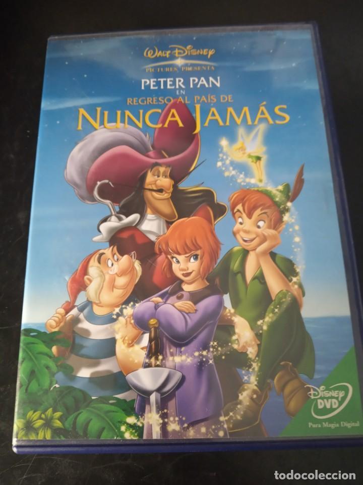 PETER PAN EN EL REGRESO AL PAIS DE NUNCA JAMÁS.DISNEY (Cine - Películas - DVD)