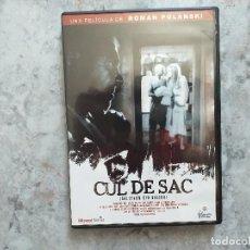 Cine: DVD. ROMAN POLANSKI. CUL DE SAC.. Lote 168376792
