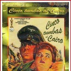 Cine: CINCO TUMBAS AL CAIRO DVD NUEVO A ESTRENAR. Lote 168409390