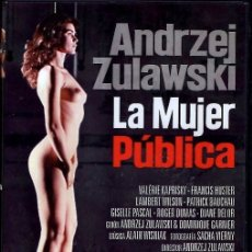 Cine: LA MUJER PÚBLICA DVD (LA FEMME PUBLIQUE) EL DIRECTOR EXPRIME A SU ACTRIZ HASTA DEJARLA EXHAUSTA (LEE. Lote 40313877