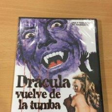 Cine: DVD CINE TERROR HAMMER - DRÁCULA VUELVE DE LA TUMBA (1968) - CHRISTOPHER LEE. PRECINTADO. Lote 168574564