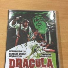 Cine: DVD CINE TERROR HAMMER - DRÁCULA PRÍNCIPE DE LAS TINIEBLAS (1965) - CHRISTOPHER LEE. PRECINTADO. Lote 168575328