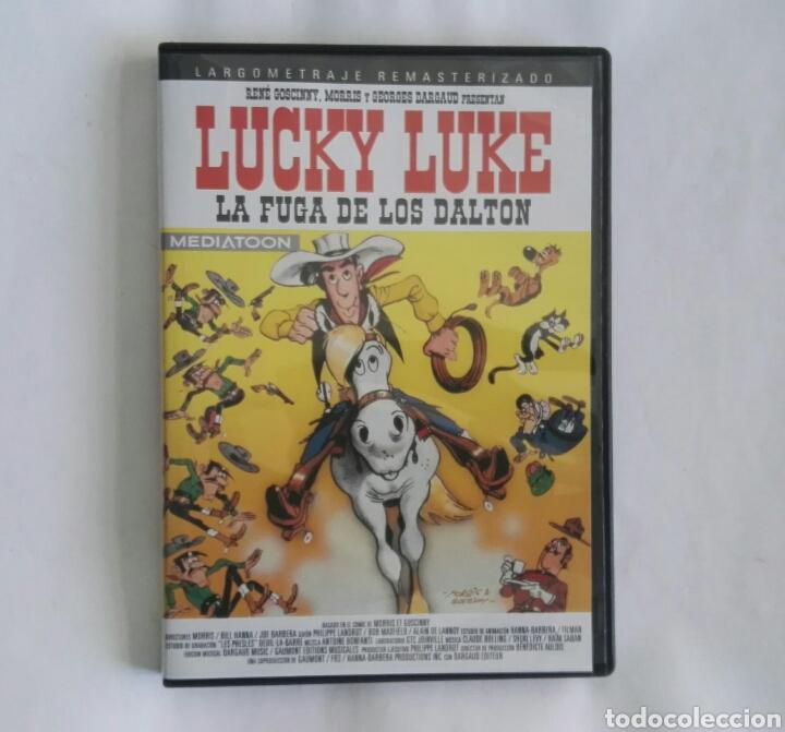 LUCKY LUKE LA FUGA DE LOS DALTON DVD NUEVO (Cine - Películas - DVD)