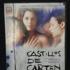 Cine: CASTILLOS DE CARTON - DVD - DESCATALOGADO - CINE ESPAÑOL - 2009 - ADRIANA UGARTE - NO CORREOS. Lote 168584604
