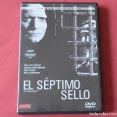 Cine: EL SEPTIMO SELLO - INGMAR BERGMAN - DVD. Lote 168591264