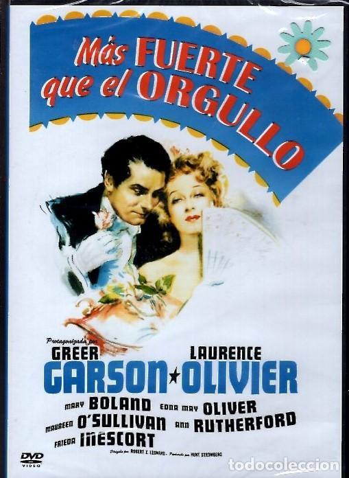 MAS FUERTE QUE EL ORGULLO DVD (L. OLIVIER) GANADORA DE UN OSCAR...ADAPTACION DE JANE AUSTEN (Cine - Películas - DVD)