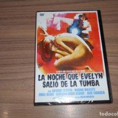 Cine: LA NOCHE QUE EVELYN SALIO DE LA TUMBA DVD ANTHONY STEFFEN TERROR NUEVA PRECINTADA. Lote 168653282