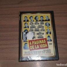 Cine: 4 PAGINAS DE LA VIDA DVD MARILYN MONROE NUEVA PRECINTADA. Lote 195285196
