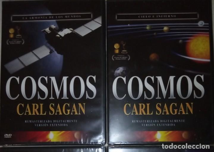 Cine: Colección completa Cosmos 13 DVD de Carl Sagan - Foto 4 - 168810268