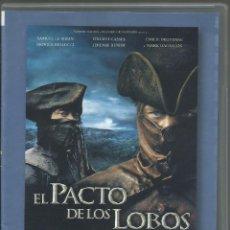 Cine: EL PACTO DE LOS LOBOS (2001). Lote 168826920