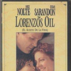 Cine: LORENZO´S OIL DVD (EL ACEITE DE LA VIDA) ...UN FILM QUE NO PODRÁS OLVIDAR POR AÑOS QUE PASEN.... Lote 168879790
