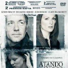 Cine: ATANDO CABOS DIRECTOR: LASSE HALLSTROM ACTORES: KEVIN SPACEY, JULIANNE MOORE, JUDI DENCH,. Lote 168905668