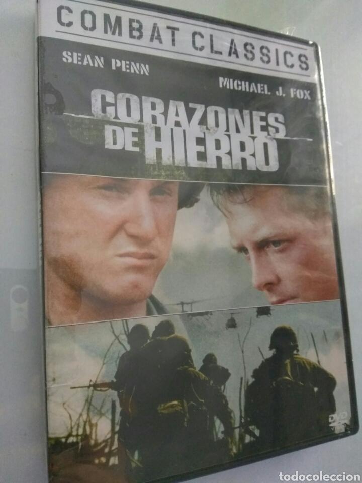 PELICULA DVD CORAZONES DE HIERRO MICHAEL J FOX (Cine - Películas - DVD)