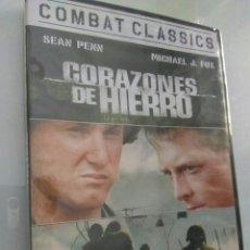 Cine: PELICULA DVD CORAZONES DE HIERRO MICHAEL J FOX. Lote 168951024