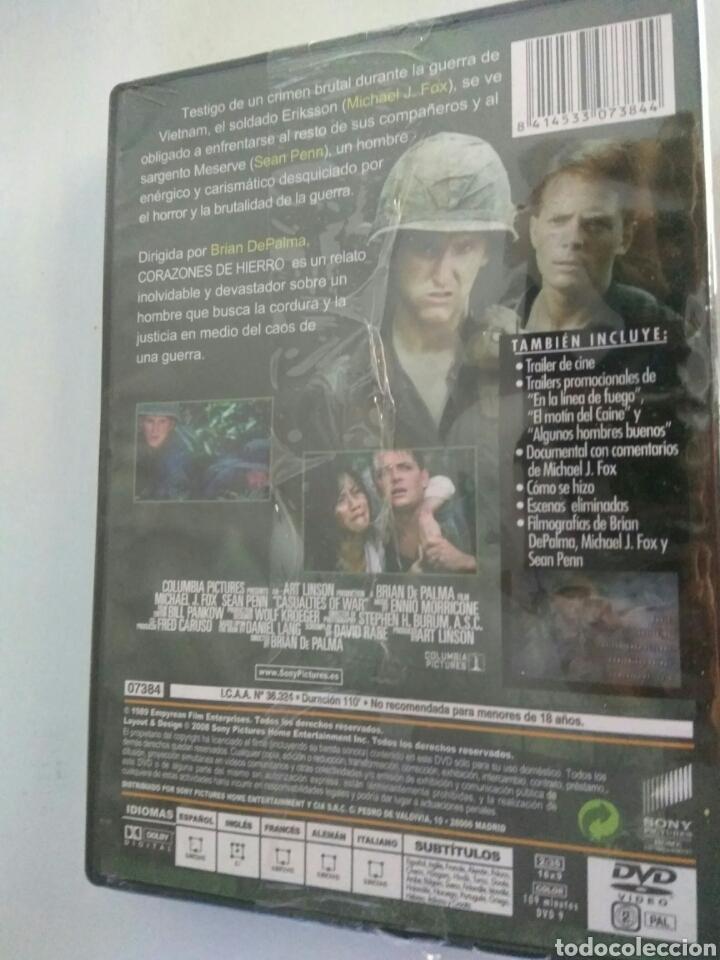Cine: Pelicula dvd corazones de hierro Michael J Fox - Foto 2 - 168951024
