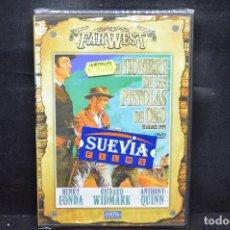 Cine: EL HOMBRE DE LAS PISTOLAS DE ORO - DVD. Lote 182567716
