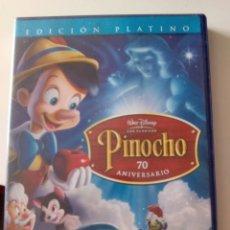 Cine: DVD WALT DISNEY PINOCHO. Lote 169096972
