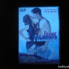 Cine: JUEGO PELIGROSO CINE DE MEDIA NOCHE - DVD NUEVO PRECINTADO. Lote 169133708