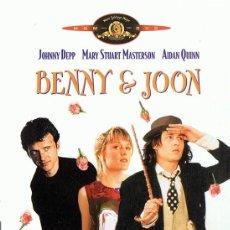 Cine: BENNY & JOON JOHNNY DEPP . Lote 169188392
