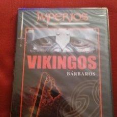 Cine: BÁRBAROS: VIKINGOS (IMPERIOS, CANAL DE HISTORIA) DVD PRECINTADO. Lote 169304176
