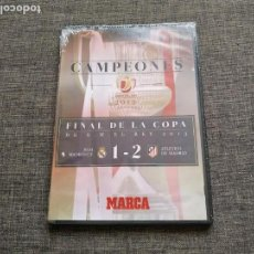 Cine: DVD CAMPEONES - FINAL COPA REY 2013 - REAL MADRID 1 - ATLETICO DE MADRID 2 - NEW. Lote 169375940