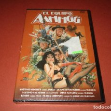 Cine: EL EQUIPO AAHHGG - DVD - EDICION 12096 - VELLA VISION - PRECINTADA - ANTONIO OZORES -JUANITO NAVARRO. Lote 169412885