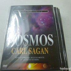 Cine: COSMOS -CARL SAGAN - EL FILO DE LA ETERNIDAD -DVD -CAJA DELGADA-PRECINTADO-N. Lote 169451584