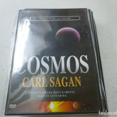 Cine: COSMOS -CARL SAGAN - EL ESPINAZO DE LA NOCHE-DVD -CAJA DELGADA-PRECINTADO-N. Lote 169451644