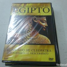 Cine: LOS GRANDES SECRETOS DE EGIPTO-EL MUNDO DE CLEOPATRA -DVD -PRECINTADO-CAJA DELGADA-N. Lote 169451812