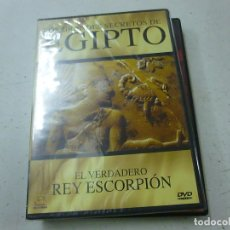 Cine: LOS GRANDES SECRETOS DE EGIPTO-EL VERDADERO REY ESCORPION-DVD -PRECINTADO-CAJA DELGADA-N. Lote 169451856