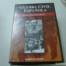 Cine: LA GUERRA CIVIL ESPAÑOLA - FRANCO Y LOS NACIONALISTAS - DVD -N. Lote 169452016