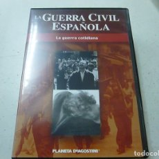 Cine: LA GUERRA CIVIL ESPAÑOLA - LA GUERRA COTIDIANA - DVD -N. Lote 169452108