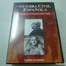 Cine: LA GUERRA CIVIL ESPAÑOLA - EL PRELUDIO DE LA TRAGEDIA - DVD -N. Lote 169452244