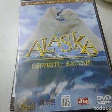 Cine: ALASKA ESPIRITU SALVAJE - IMAX -DVD -N. Lote 169452872