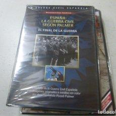 Cine: ESPAÑA:LA GUERRA CIVIL SEGUN PALMER - EL FINAL DE LA GUERRA-CAJA DELGADA . Lote 169453356