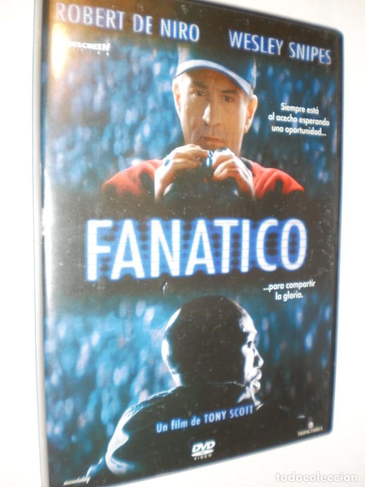 DVD FANÁTICO. ROBERT DE NIRO. WESLEY SNIPES. 110 MIN (SEMINUEVA) (Cine - Películas - DVD)