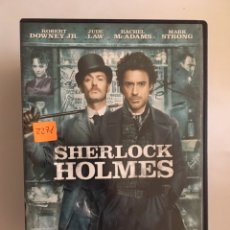 Cine: SHERLOCK HOLMES DVD. Lote 169482758