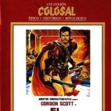 Cine: EL SACRIFICIO DE LAS ESCLAVAS DIRECTOR: SIRO MARCELLINI ACTORES: GORDON SCOTT, MOIRA ORFEI. Lote 169550720