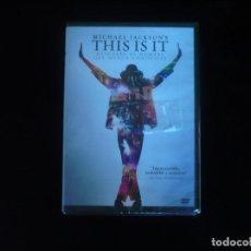 Cine: MICHAEL JACKSON'S THIS IS IT - DVD NUEVO PRECINTADO. Lote 169585112