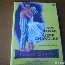 Cine: JEANNE EAGELS / KIM NOVAK / DVD / . Lote 169698432