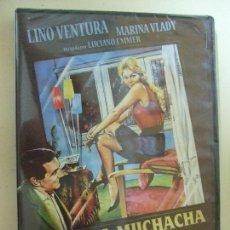Cine: UNA MUCHACHA EN EL ESCAPARATE / LA RAGAZZA IN VETRINA - LUCIANO EMMER LINO VENTURA - CINE DVD 1961. Lote 169712716