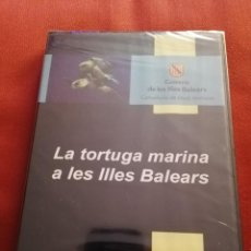 Cine: LA TORTUGA MARINA A LES ILLES BALEARS (GOVERN DE LES ILLES BALEARS) DVD PRECINTADO. Lote 169747664