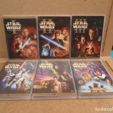 Cine: STAR WARS COLECCION DVD-EDICION LIMITADA -12 DISCOS - LAS SEIS PELICULAS.. Lote 169908388