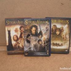 Cine: TRILOGIA EL SEÑOR DE LOS ANILLOS -- 6 DVD. Lote 169912896