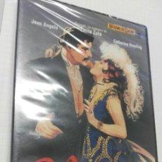 Cine: DVD NANA ORIGENES DEL CINE DE JEAN RENOIR CARÁTULA EN PORTUGUES, IDIOMAS CASTELLANO Y PORTUGUES. Lote 169970766