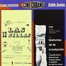 Cine: LAS 12 SILLAS + HISTORIAS DE LA REVOLUCION - DVD NUEVO Y PRECINTADO. Lote 169982812