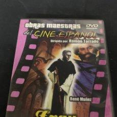 Cine: ( S135 ) FRAY ESCOBA - RENÉ MUÑOZ ( DVD SEGUNDA MANO ). Lote 170164058